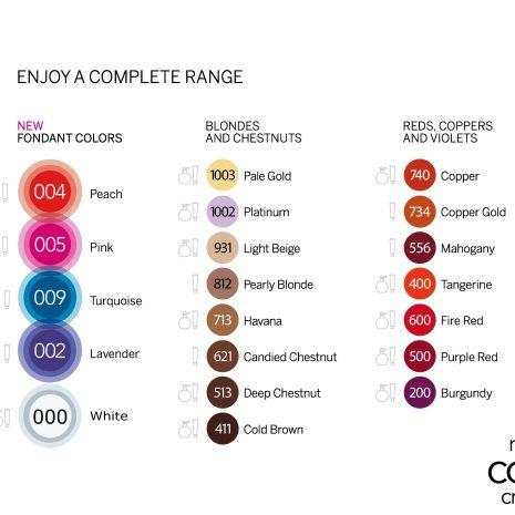 Nutri Colour Range i both tube and ball